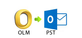convert olm emails to pst