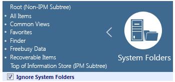 ignore system folder
